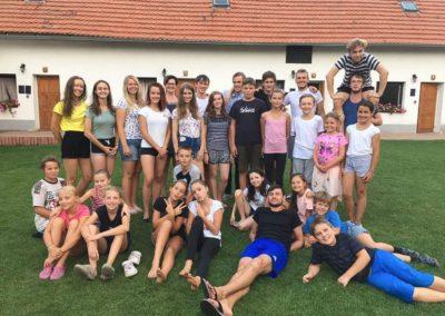 Sportovni tanecni klub 6dance Tabor - Letní soustředění a příměstské tábory